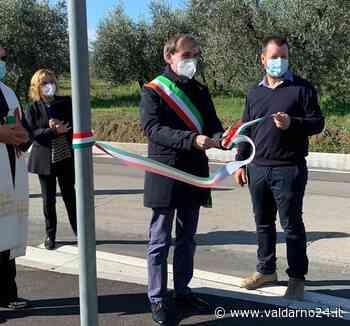 San Giustino: inaugurazione del percorso pedonale e premio per l'impegno civico a Giovanni Buccero - Valdarno 24 - Valdarno24