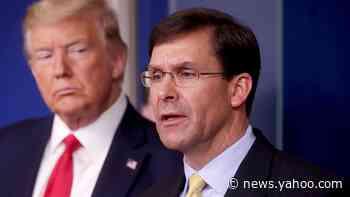Pentagon chief fired via Trump tweet