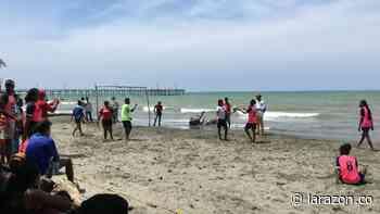 Moñitos inició plan piloto para reapertura de playas - LA RAZÓN.CO