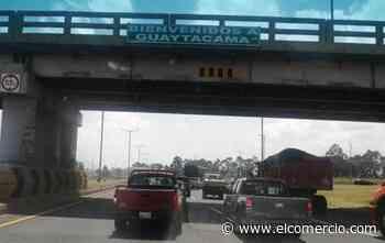 Indígenas y campesinos de Latacunga, Saquisilí, Pujilí y Salcedo cerraron el paso vehicular en la vía Panamericana - El Comercio (Ecuador)
