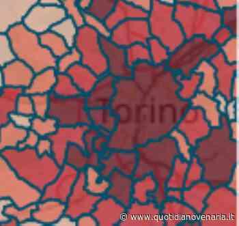 MAPPA CORONAVIRUS - Venaria 431, Collegno 659, Rivoli 631, Druento 116, Pianezza 229 - QV QuotidianoVenariese