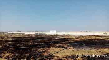 Lambayeque: incendio consume cancha de estadio en Ferreñafe lrnd - LaRepública.pe