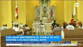 Provincias El pueblo de Ocú despide al folclorista y presentador panameño Kendal Royo - TVN Noticias