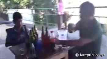 Coronavirus en Perú   Junín: alcalde de Pangoa Celso León Llallico es captado bebiendo alcohol con amigos   VI - LaRepública.pe