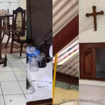 Delincuentes roban en la capilla Virgen Guadalupe, de Masaya - articulo66.com