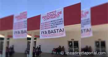 Personal de Salud de Navolato se manifiesta para exigir mejoras laborales - Linea Directa
