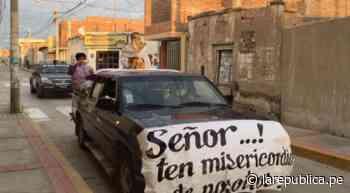 Coronavirus: vecinos de Ciudad Eten piden al Santísimo que finalice pandemia LRND - LaRepública.pe