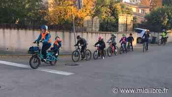 """""""Tous à vélo"""" : à Clapiers, ils vont à l'école en vélobus ! - Midi Libre"""