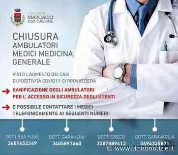 Marcallo con Casone/2. Emergenza Covid: chiusi al pubblico gli ambulatori di Medicina Generale | Ticino Notizie - Ticino Notizie