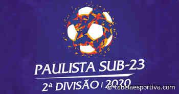 Assistir Araçatuba x Tanabi Ao Vivo - Campeonato Paulista Segunda Divisão - Tabela Esportiva