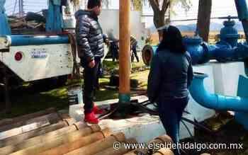 Restablecen el servicio de agua en Ciudad Sahagún - El Sol de Hidalgo