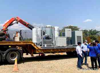 Cajamarca: arriba nueva planta de oxígeno a Cajabamba para atender a casos covid-19 - Agencia Andina