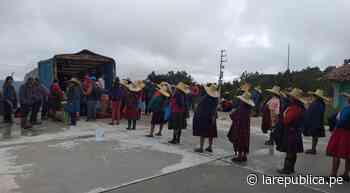 Coronavirus: Municipalidad de Cajabamba descentraliza venta de alimentos   LRND - LaRepública.pe