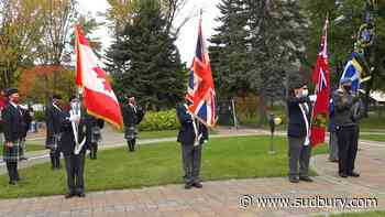 WATCH: You can watch Sudbury's virtual Remembrance Day ceremony now