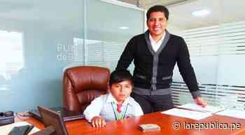Arequipa: Niño asume cargo de alcalde de Punta de Bombón | Escolares | lrsd | - LaRepública.pe
