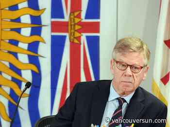 B.C. Lottery Corp.'s anti-money laundering chief tells inquiry about his police concerns