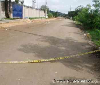 Asesinan a prestamista en una trocha que va hacia el barrio Policarpa - El Universal - Colombia