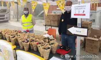 Azaleaverkoop is goed voor 4.123 euro - Het Nieuwsblad