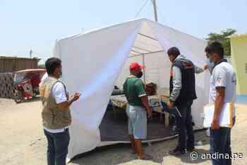 Entregan alimentos y ayuda material a familias damnificadas por incendio en Mórrope - Agencia Andina