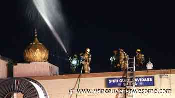 Sikh temple's parade float destroyed by suspicious fire in Burnaby, BC - Vancouver Is Awesome