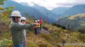 Cajamarca: supervisan avance de trabajos en carretera Bambamarca-Marañón   LRND - LaRepública.pe