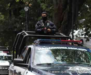 Implementan operativo de seguridad para el Buen Fin en Uruapan - Quadratín - Quadratín Michoacán