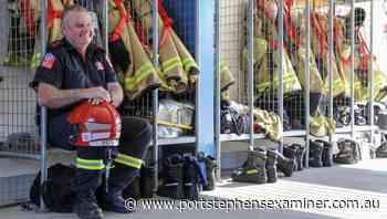 Raymond Terrace Fire and Rescue captain Dennis Peters to retire after 23-year career - Port Stephens Examiner