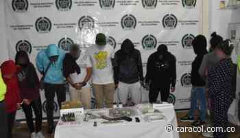 Desarticulan banda 'Los Monos' dedicada a venta de drogas Risaralda - Caracol Radio