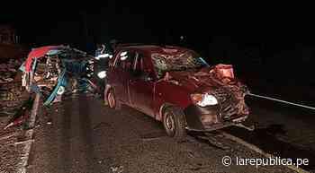 Cusco: Choque entre mototaxi y auto deja dos muertos en vía Pisac - Calca | lrsd | accidente de transito - LaRepública.pe