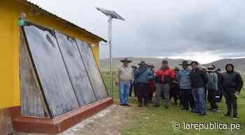 Entregan 32 casas calientes a familias de parte alta de Maranganí en Cusco   lrsd - LaRepública.pe
