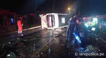 Accidente en la vía Cusco – Sicuani deja una persona muerta y varios heridos   lrsd - LaRepública.pe