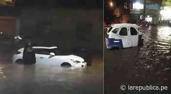 Cusco: Torrencial lluvia inundó calles y provocó estragos en Sicuani   lrsd - LaRepública.pe