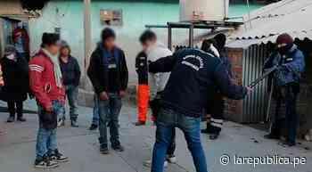 Ronderos detienen a tres presuntos hampones en distrito de Quiruvilca en La Libertad LRND - LaRepública.pe