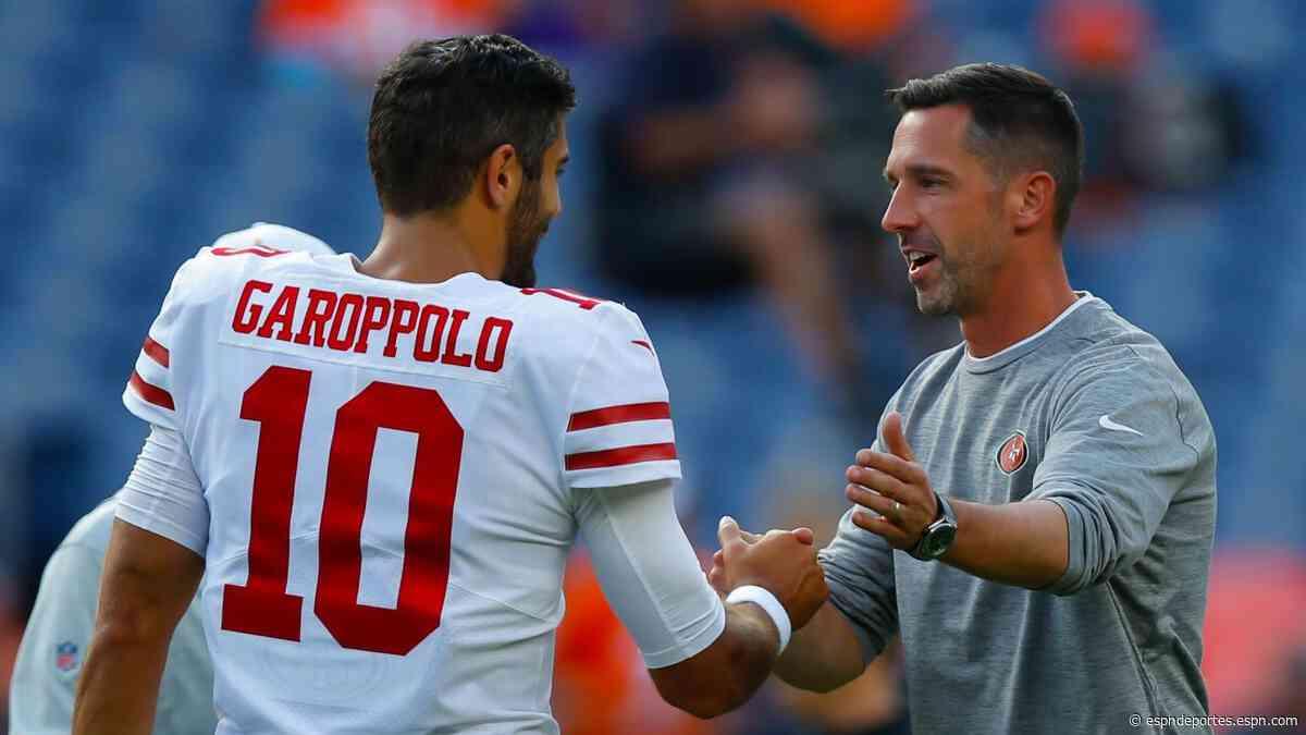 San Francisco 49ers analizan dar vuelta a la página con Jimmy Garoppolo - ESPN Deportes