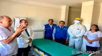 Autoridades inspeccionaron ambientes del Hospital II Chocope destinados a pacientes con síntomas del coronavi - LaRepública.pe