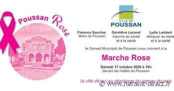 Poussan - La Ville de Poussan participe à la 27ème campagne d' Octobre Rose - HERAULT direct