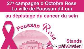 POUSSAN - Cancer du sein : journée de sensibilisation ce samedi 17 octobre à 10h - Hérault-Tribune