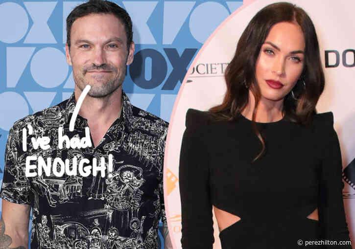 Brian Austin Green Source Blames Parenting Drama On Megan Fox Being 'Difficult'!