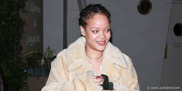 Rihanna Enjoys Dinner at Giorgio Baldi in Santa Monica