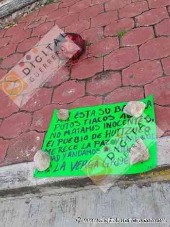 Riegan partes desmembradas de un hombre en Huitzuco - Digital Guerrero