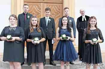 Die beiden Kirchengemeinden Ebern und Maroldsweisach feierten die Konfirmation - inFranken.de