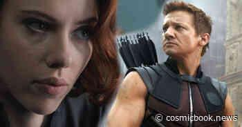 Jeremy Renner Teases Hawkeye For 'Black Widow' - Cosmic Book News