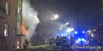 Bei Hamburg: Explosion in Mehrfamilienhaus – ein Toter und mehrere Verletzte - Hamburger Morgenpost