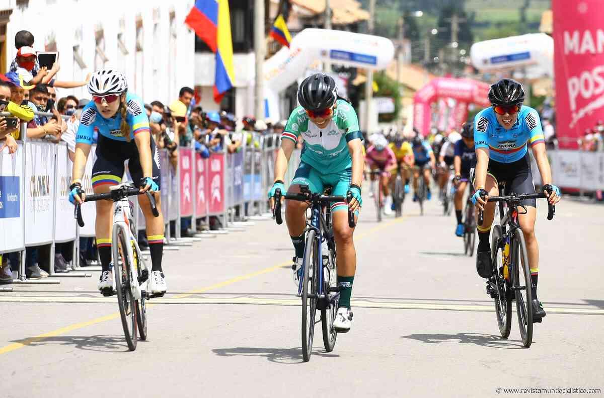 Lorena Colmenares triunfa con autoridad en Tibasosa y es líder de la Vuelta a Colombia Femenina - Revista Mundo Ciclistico