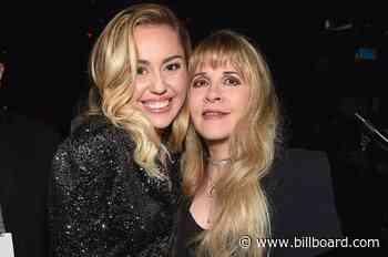 Miley Cyrus & Stevie Nicks Mash-Up Has Us Dreaming Up More Cross-Generational Diva Duos - Billboard