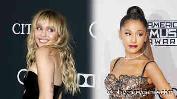 Ariana Grande has actually overtaken Miley Cyrus - Play Crazy Game