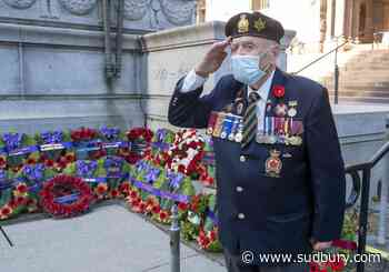 Toronto marks Remembrance Day in ceremonies modified for the pandemic