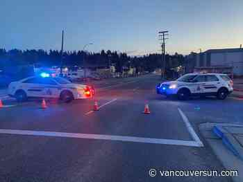 Police say alcohol and speed likely factors in fatal crash in Burnaby