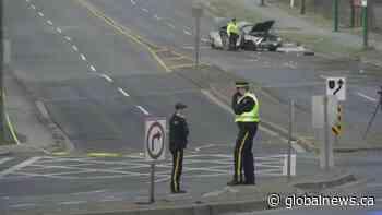 Fatal crash closes Byrne Road in Burnaby