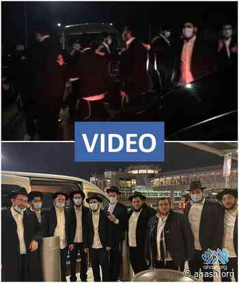 New Shliach Seen Off With Lively Dance - Anash.org - Good News